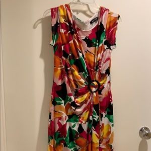 Gorgeous floral Ellen Tracy dress.